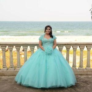 Blue Aqua XV Dress